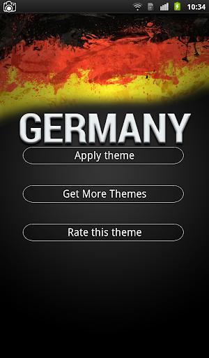 Germany Keyboard Theme