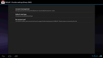Screenshot of SMSoIP Cherry-SMS Plugin