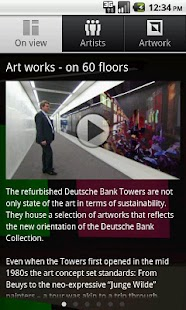 Deutsche Bank Art works- screenshot thumbnail