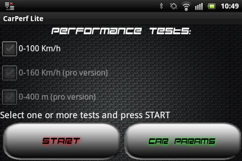 CarPerf Pro- screenshot