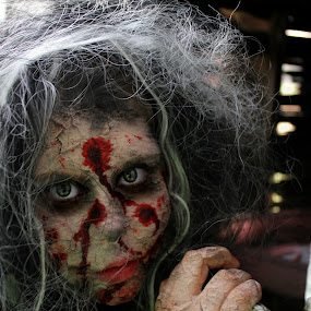 My Lovely Daughter by Beth Lassiter - Public Holidays Halloween ( zombie, walking dead, costume, october 31st, halloween,  )