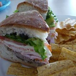 Joanne's Super Hero Sandwich.