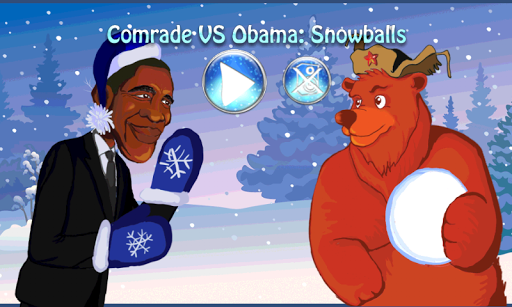Comrade VS Obama: Snowballs