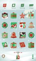 Screenshot of Xmas Gift LINE Launcher theme