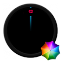 Vanishing numbers Clock Widget icon