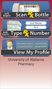 University of Alabama Pharmacy- screenshot thumbnail