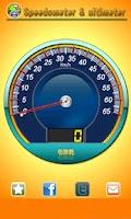 Screenshot of Speedometer and altimeter