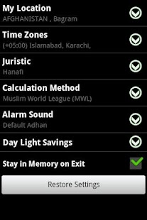 Prayer Time & Qibla (Widget) Screenshot 12