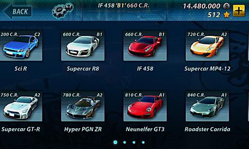 Best Cars Csr Racing Tier