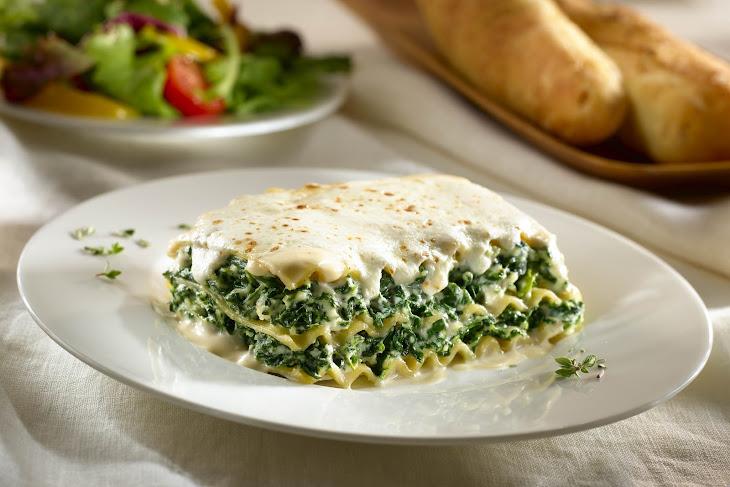 Alfredo Florentine Lasagna Recipe