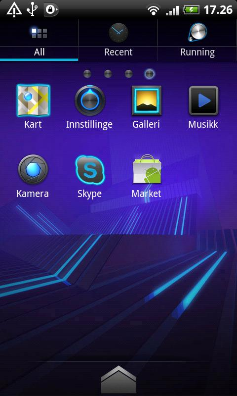 Honeycomb PRO GO Launcher- screenshot