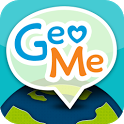 GeoMe Messenger icon