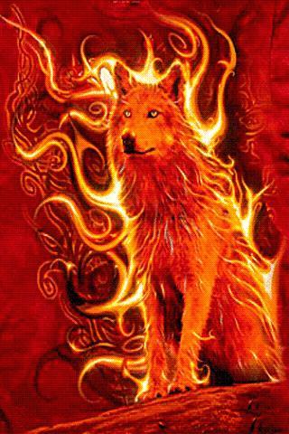 Wolf Of Fire Live Wallpaper APK