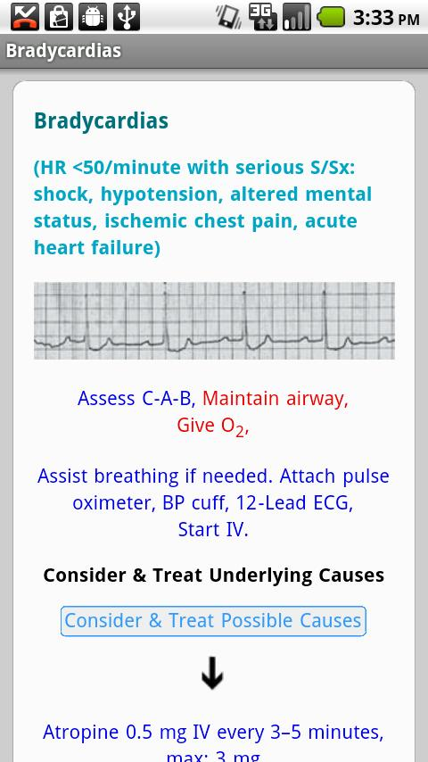 Critical Care ACLS Guide - screenshot