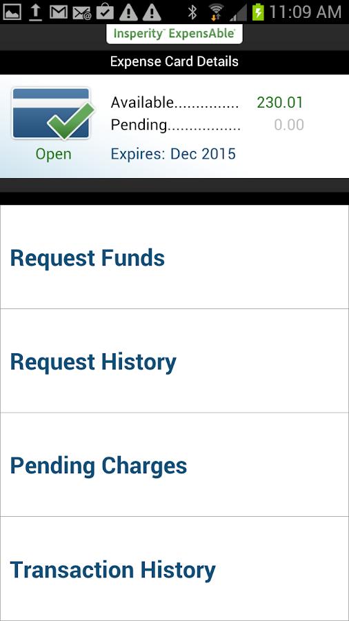 ExpensAble Corporate - screenshot