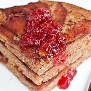 Giant Upside Down Apple Pancake