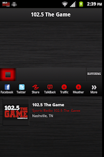 102.5 The Game- screenshot thumbnail