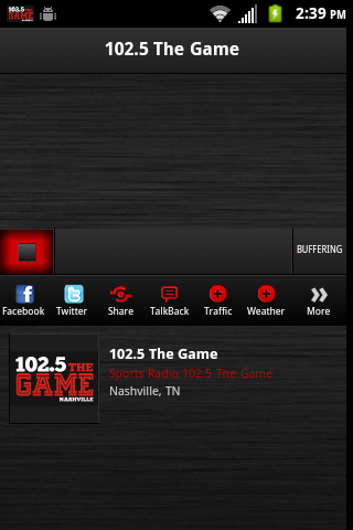 102.5 The Game - screenshot