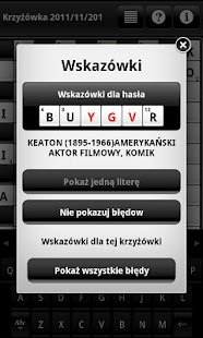 Krzyżówki (Crosswords) - screenshot thumbnail