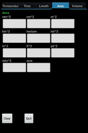 TempConv screenshot for Android