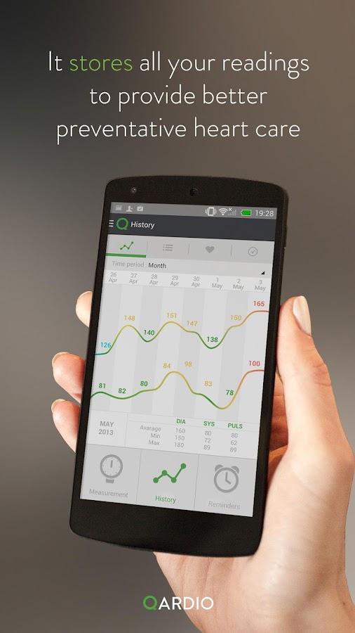 Qardio Heart Health - Android Apps on Google Play
