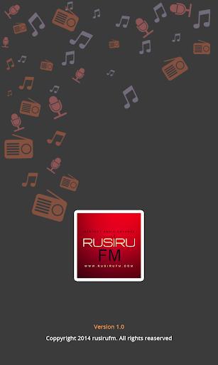 RusiruFM SriLanka OnlineRadio