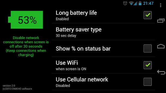Long Battery Life DEMO - screenshot thumbnail