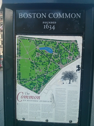 PokemonGoMapInfo PokeStop Historical Boston Common Map - Boston common map