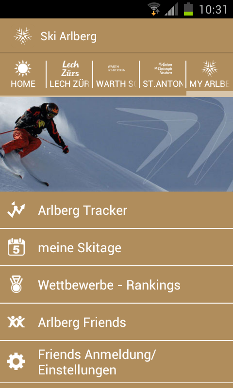 Ski Arlberg- screenshot