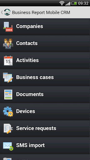 BusinessReport Mobile CRM
