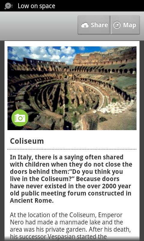 Rome City Guide - screenshot
