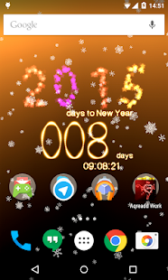New Years Countdown 2015 - screenshot thumbnail