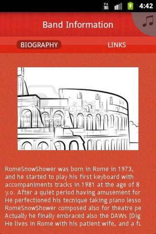 RomeSnowShower - screenshot