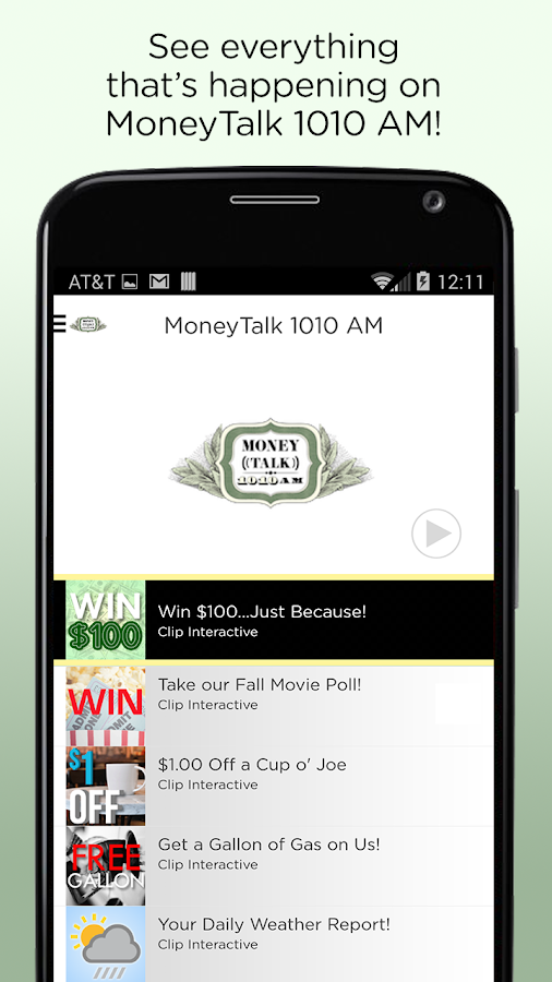 MoneyTalk 1010 AM- screenshot
