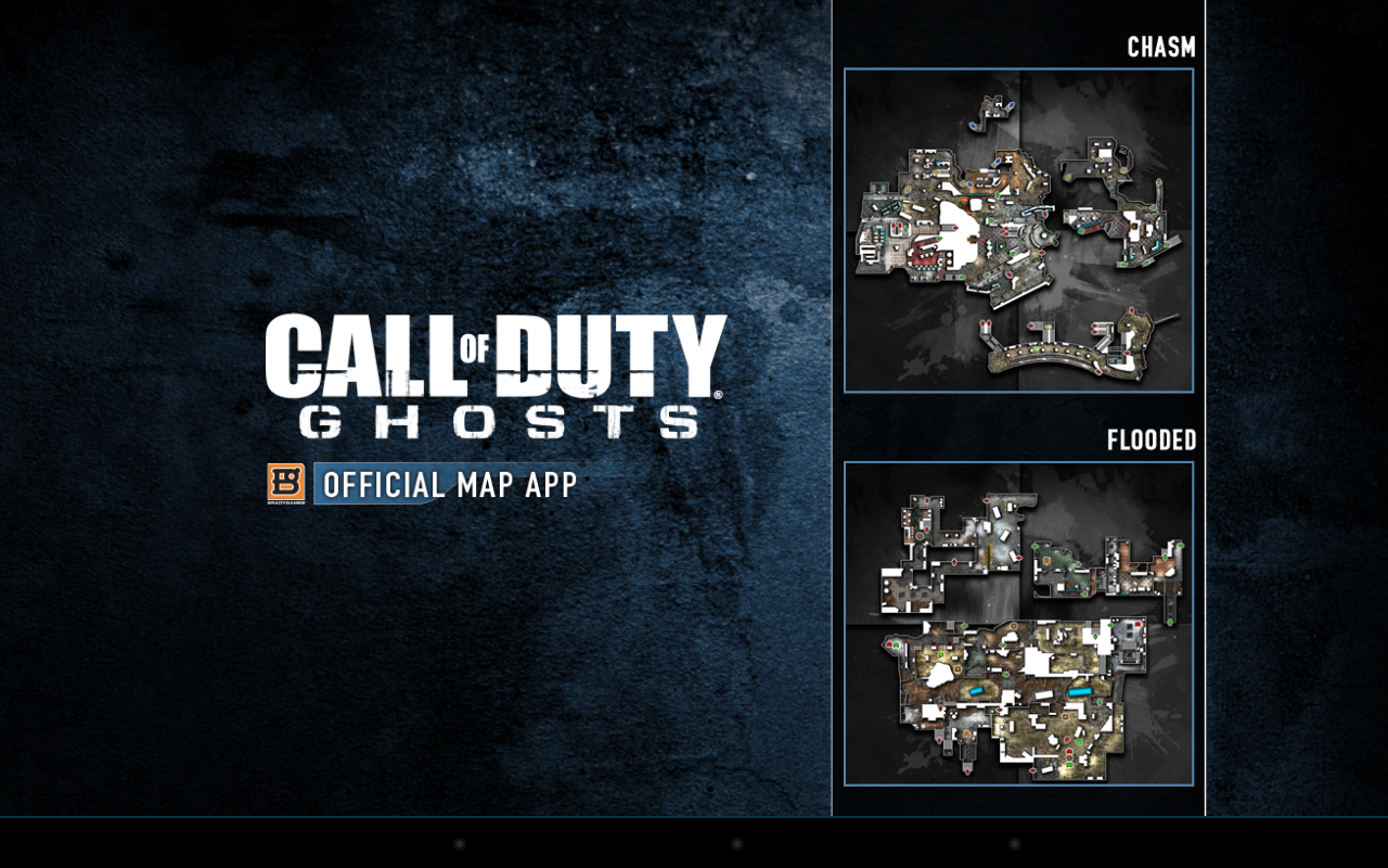 COD Ghosts Official MP Map App- screenshot