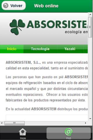 ABSORSISTEM - screenshot