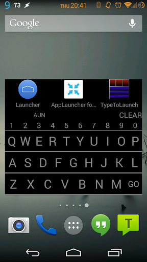 Type To Launch - App Search