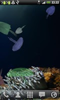 Screenshot of JellyFish Live Wallpaper