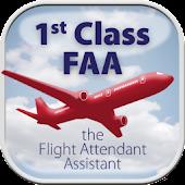 First Class Flight Attendant