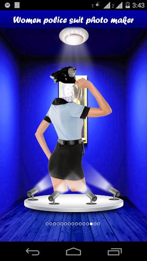 【免費攝影App】Women police suit photo maker-APP點子