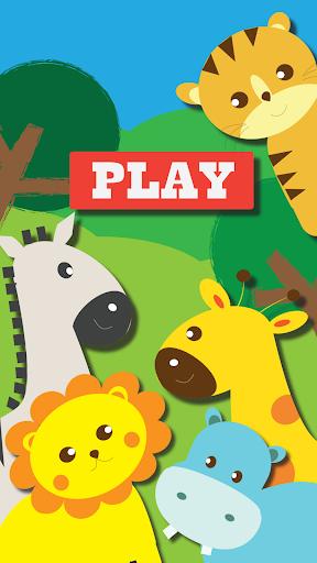 兒童配對遊戲:動物