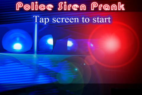 Police Prank Lights Sirens