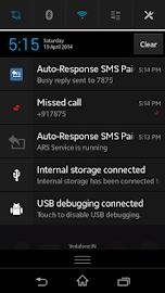 Auto-Response SMS Screenshot 3