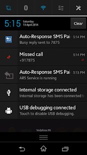 Auto-Response SMS Screenshot 3
