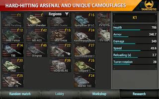 Screenshot of 3D Tanks Online: Tanktastic