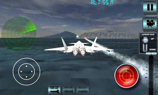 噴氣式戰鬥機模擬器3D