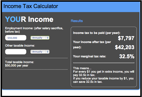 Income Tax Brackets Video