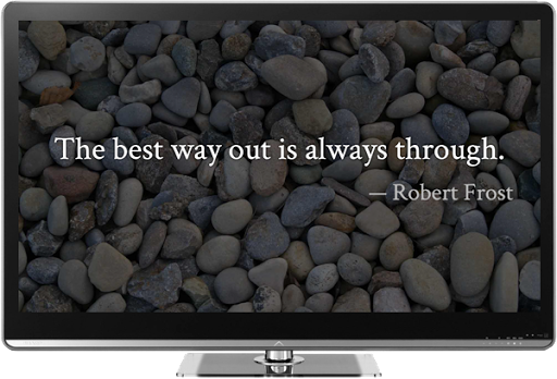 Beautiful Quotes on Chromecast
