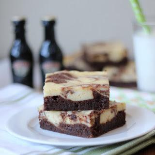 Irish Cream Cheesecake Brownies