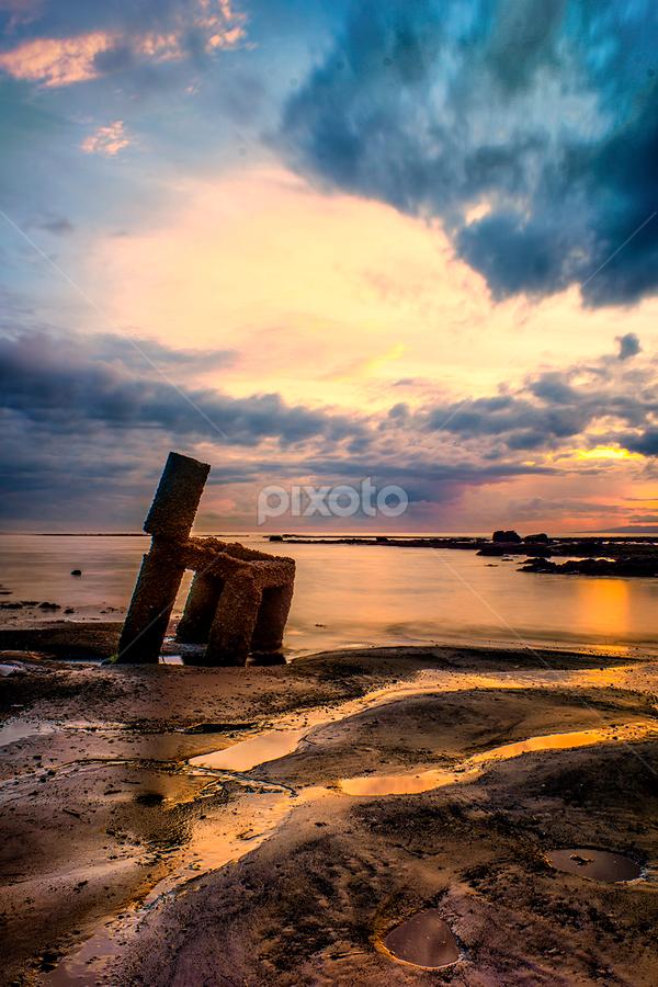 .:: gold sand ::. by Setyawan B. Prasodjo - Landscapes Sunsets & Sunrises